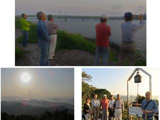 第一回川内川あらし観察会を開催