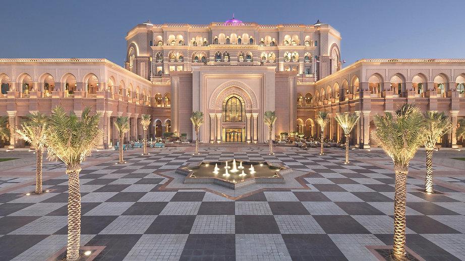 Emirates Palace Abu Dhabi, West Corniche