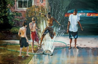Kevin Buckland (Westerville, OH) - Watering the Lawn