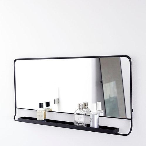 Espejo con estante 80x40cm