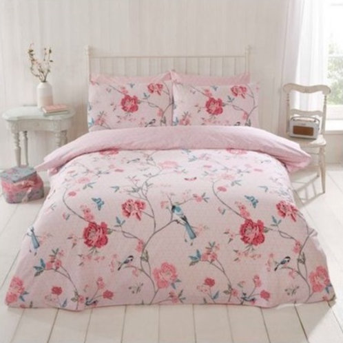 Tranquility Duvet Cover Set - Pink