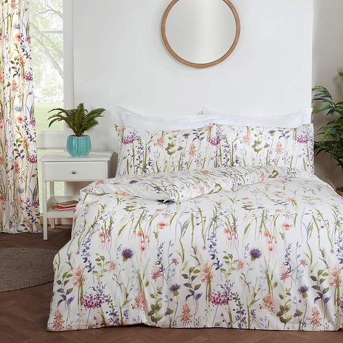 Country Floral Multi Duvet Cover Set
