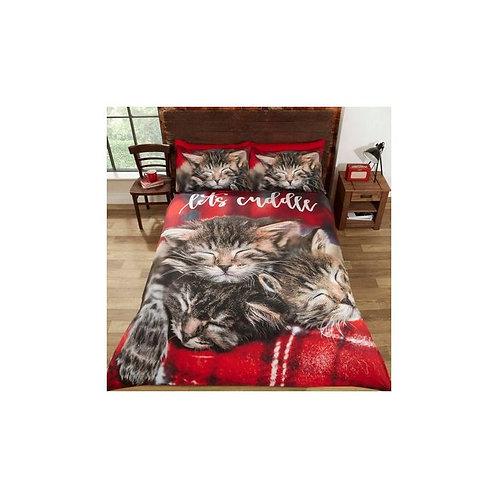 Cuddle Cats Duvet Cover Set