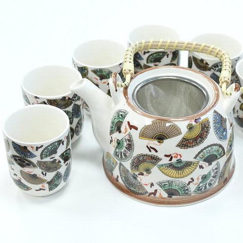 Herbal Teapot Set - China Fans