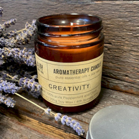 Aromatherapy Soy Wax Candles - 200g