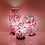 Thumbnail: Flower Mosaic Glass Vintage Vase Table Lamp 38cm