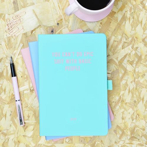 Green & Pink Personalised Notebook