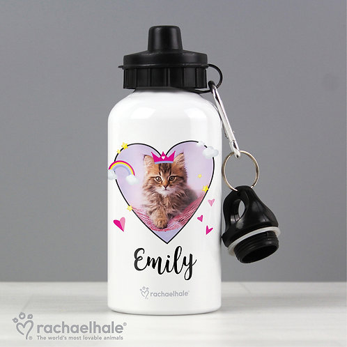 Personalised Cute Cat Drinks Bottle