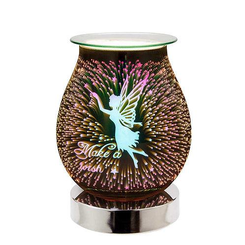 Fairy 3D Lamp Silver Base