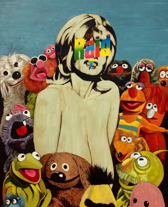 Chesty Morgan y Muppets