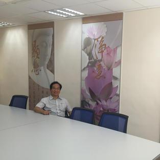 佛教孔仙洲紀念中學會議室壁畫設計