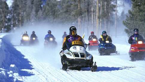 Adrenaline Junkie: Snowmobile Adventures