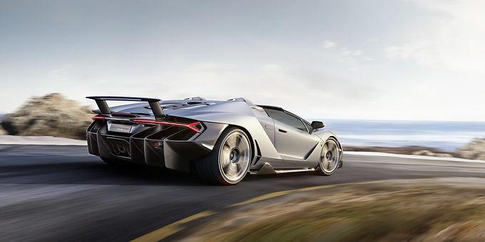 Lamborghini Unveils The Centenario Roadster