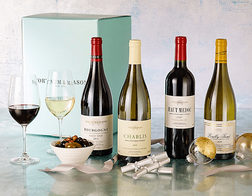Top Wine, Cheese & Food Hampers for Christmas
