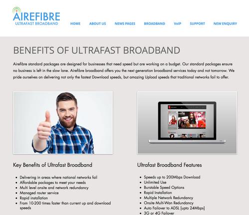 Airefibre Ultrafast Broadband