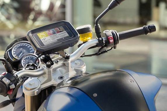 BMW Motorrad Presents Smartphone Cradle