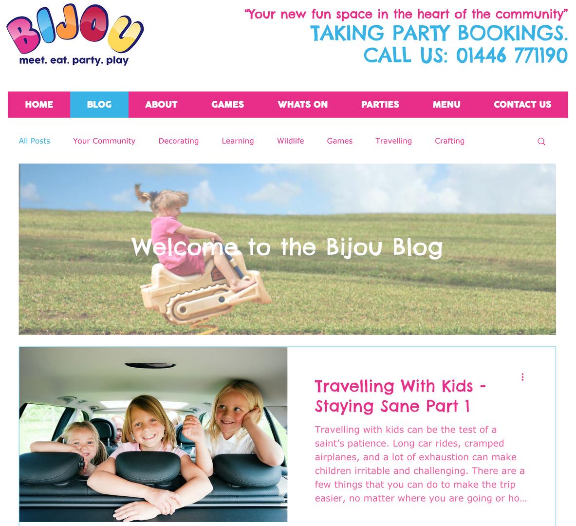 Bijou Blog