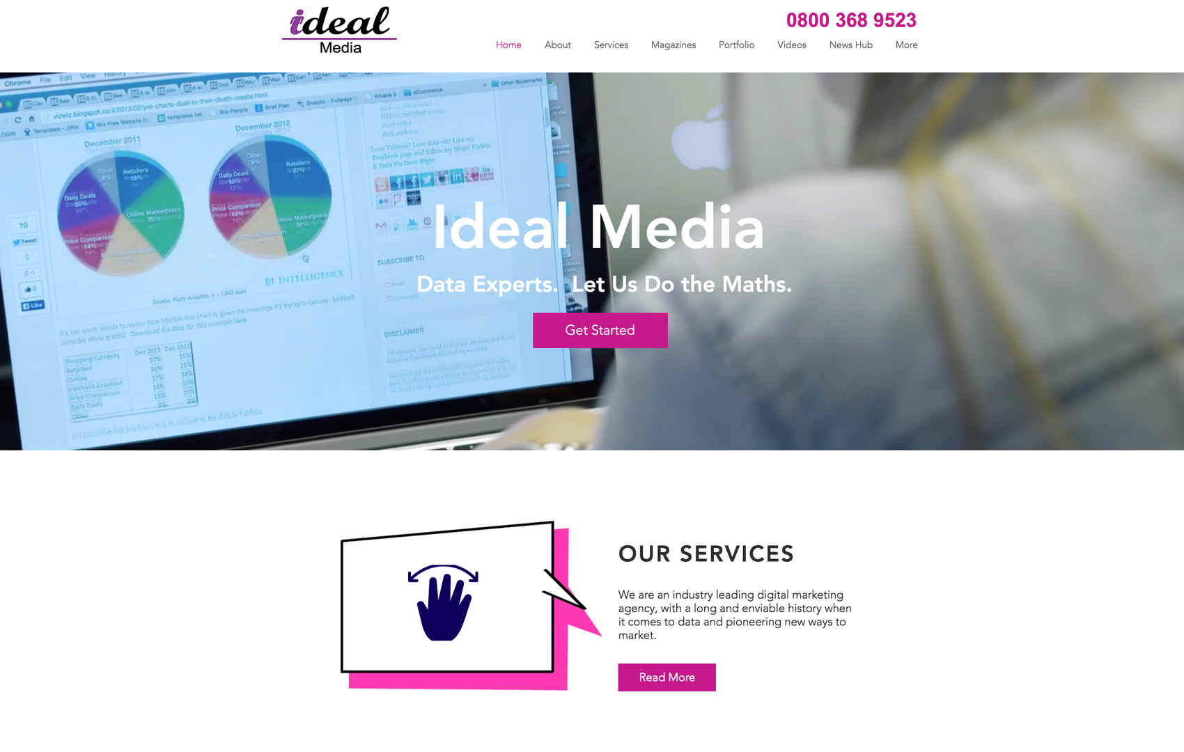 Ideal Media Homepage