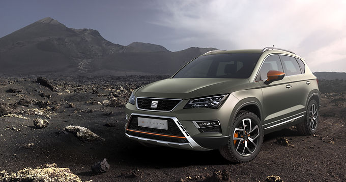 The SEAT Ateca X-Perience is Going All Out