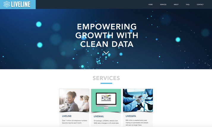 Liveline Home Page