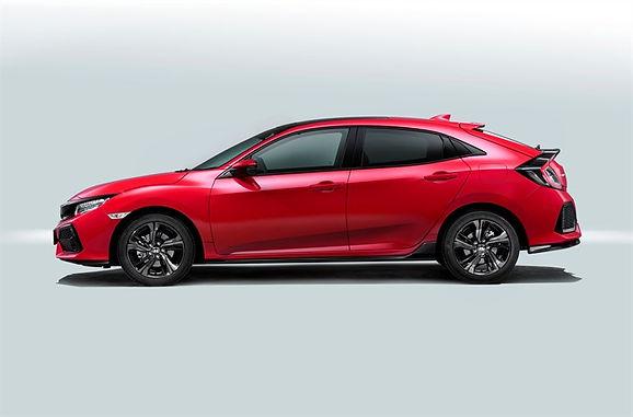 New UK-built Honda Civic Unveiled