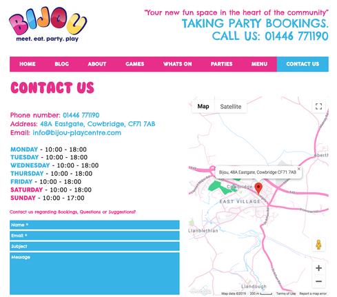 Bijou Contact Us