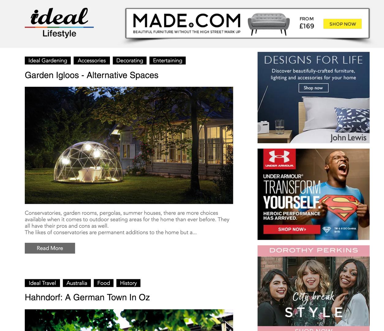 Ideal Lifestyle Blog