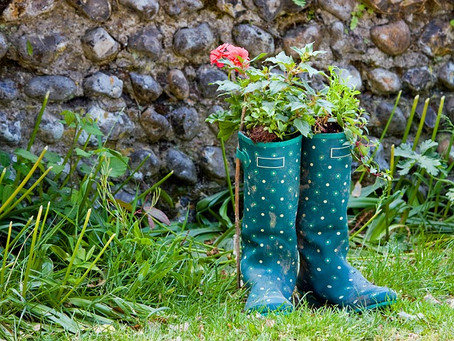 6 Things To Do With Old Wellington Boots