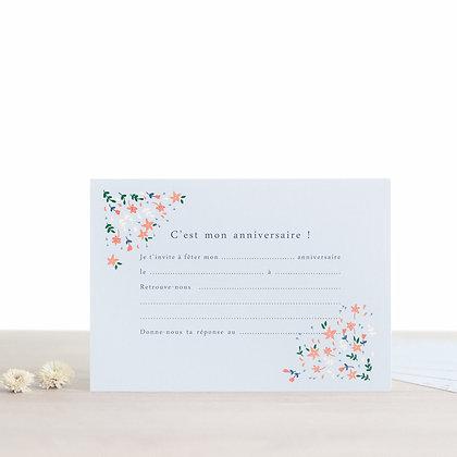 Cartons d'invitation Achille