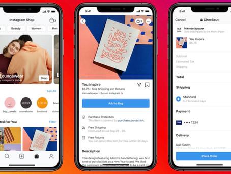 Facebook Shops: חנות אונליין שנמצאת בפייסבוק ובאינסטגרם
