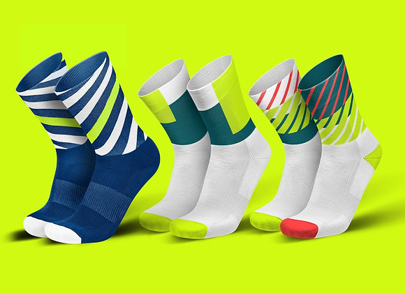 CANARY BUNDLE - מארז 3 זוגות גרביים ארוכים