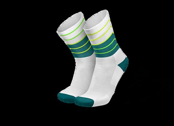 LINES PETROL CANARY - גרבי ריצה וספורט