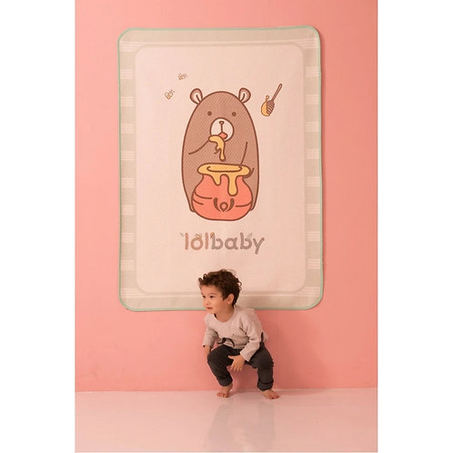 Lolbaby Waterproof Mat - Honey Bear