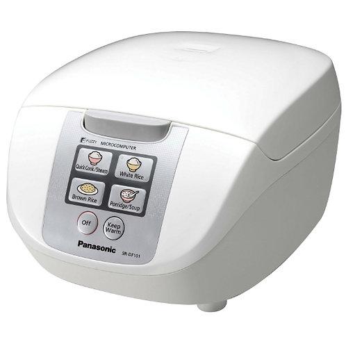 Panasonic 1LT Micro-Computer Rice Cooker  - SR-DF101WSH