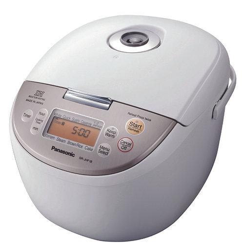 Panasonic 1.8LT Induction Heating Micron Rice Cooker - SR-JHF18WSH