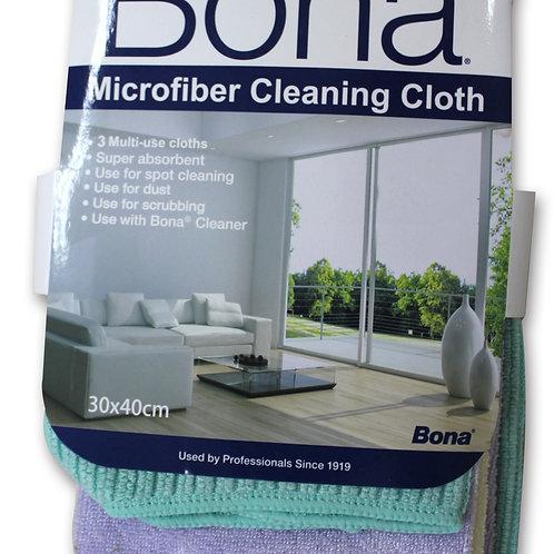 Bona 3 Pcs Cleaning Cloths