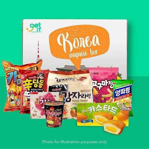 Snack Surprise Box - Korea
