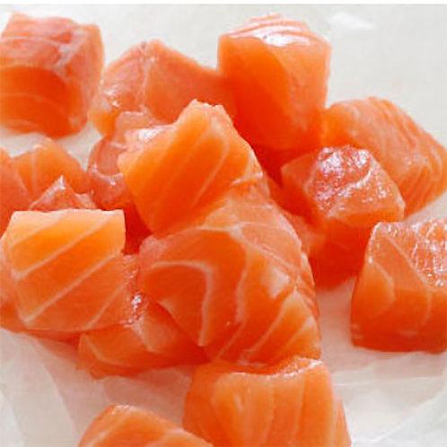 Salmon Cube 200g (2 portion)