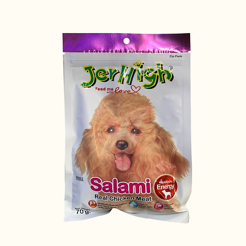 JerHigh Energy Dog Snacks - Salami 70g