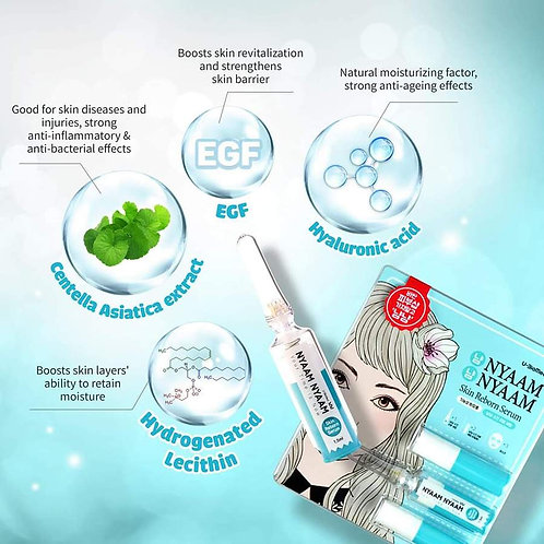 NYAAMNYAAM Micro-Needling Serum Facial Treatement - Skin Reborn Serum