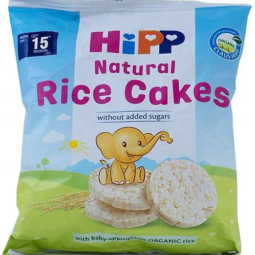 HiPP Organic Rice Cakes for Toddler - Regular (No Suggar Added)