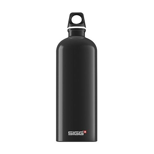 Sigg Traveller Black 1L Water Bottle - 8327.4