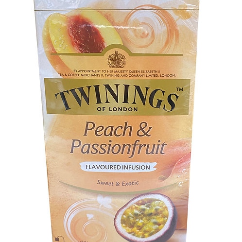Twinings Pure Infusion Teabags - Peach & Passionfruit