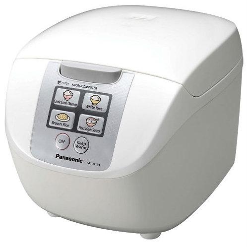 Panasonic 1.8LT Micro-Computer Rice Cooker  - SR-DF181WSH