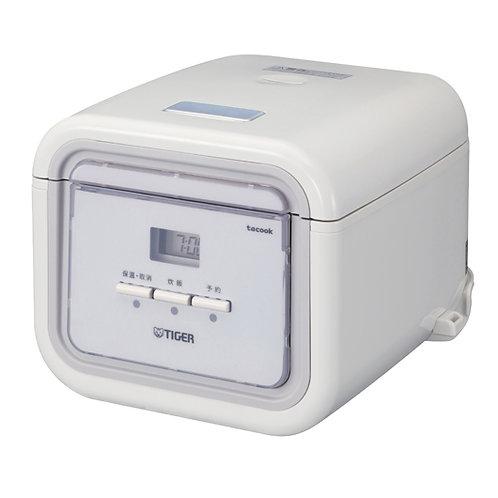 Tiger 0.54LT Tacook Rice Cooker - White  - JAJ-A55S