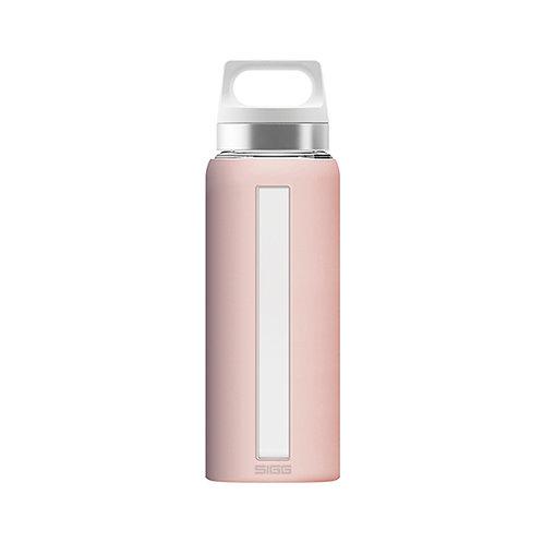 Sigg Dream Blush 650ml Glass Water Bottle  - 8648.2