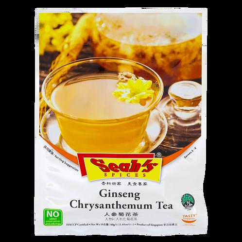 Seah's Spices - Ginseng Chrysanthemum Tea 40g