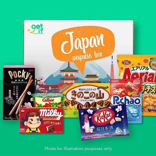 Snack Surprise Box - Japan