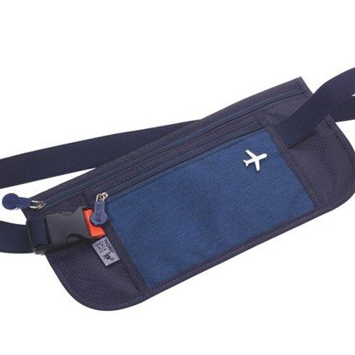 Troika Belt bag, 2 compartments, RFID fraud prevention