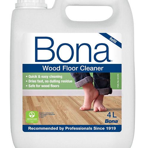 Bona Wood Floor Cleaner 4 litre (Refill)
